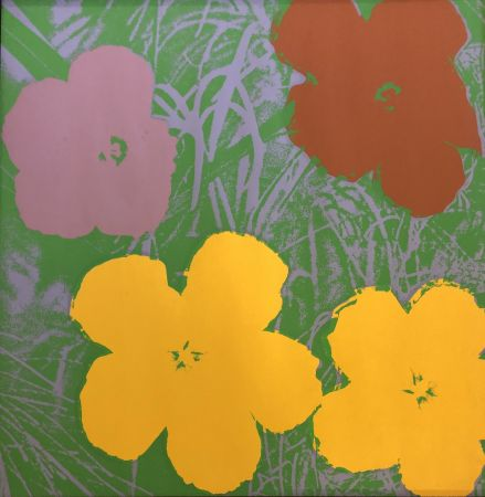 Сериграфия Warhol - The Flowers