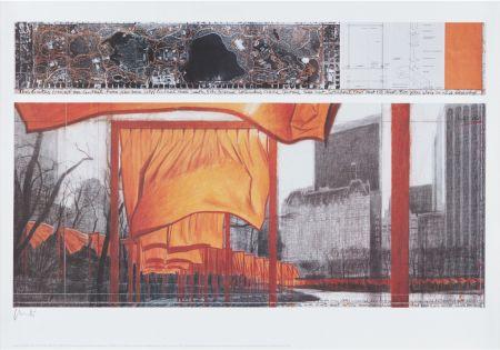Литография Christo - The Gates (Viii)