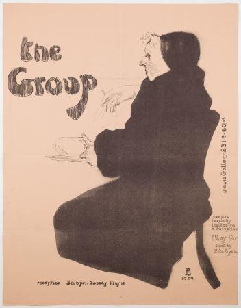Литография Levine - The Group