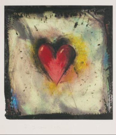 Офорт И Аквитанта Dine - The Hand-Colored Viennese Heart IV