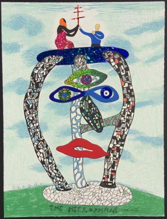 Литография De Saint Phalle - The Hierophant