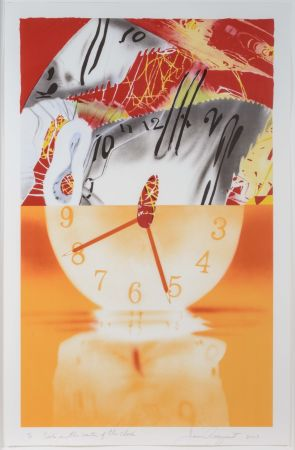 Литография Rosenquist - The Hole in the Center of the Clock