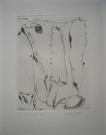 Офорт Brzozowski - The international avant garde 4