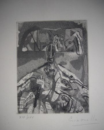 Офорт И Аквитанта Gironella - The international avant garde 4