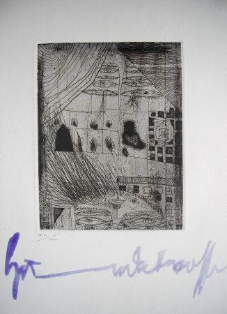 Офорт Hundertwasser - The international avant garde 4