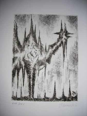 Офорт Tchorzewski - The international avant garde 4