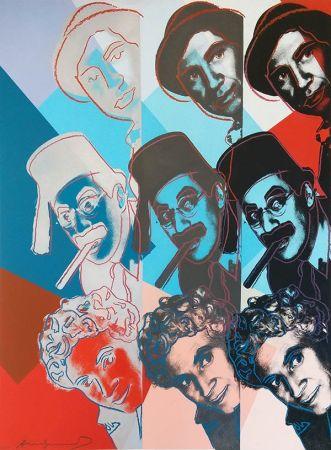 Сериграфия Warhol - THE MARX BROTHERS FS II.232