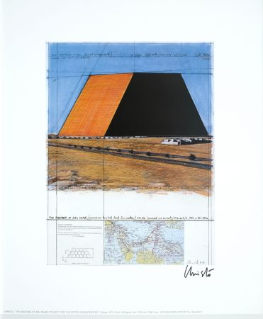Гашение Christo - The Mastaba of Adu Dhabi