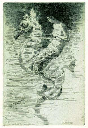 Офорт И Аквитанта Church - The Mermaid