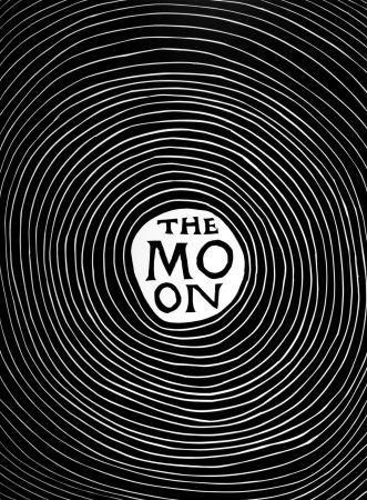 Линогравюра Shrigley - The Moon