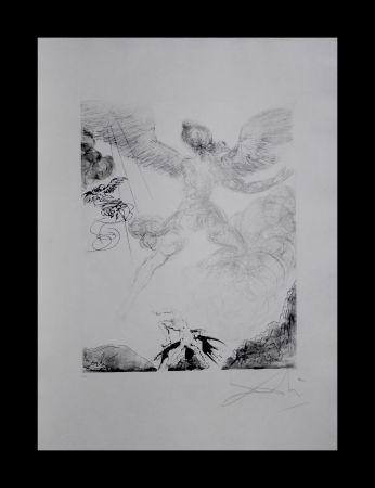 Гравюра Dali - The Mythology Icarus
