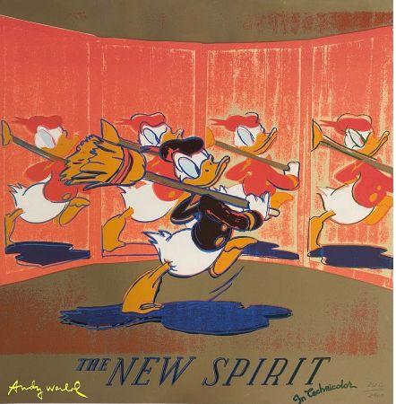 Гашение Warhol - The New Spirit (Donald Duck),