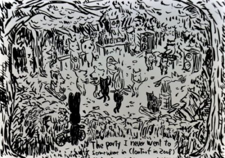 Литография Kaga - The party I never went to...