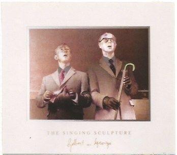 Многоэкземплярное Произведение Gilbert & George - The singing sculpture