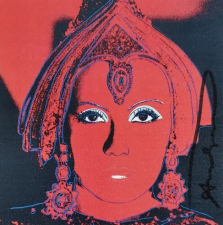 Сериграфия Warhol - The Star