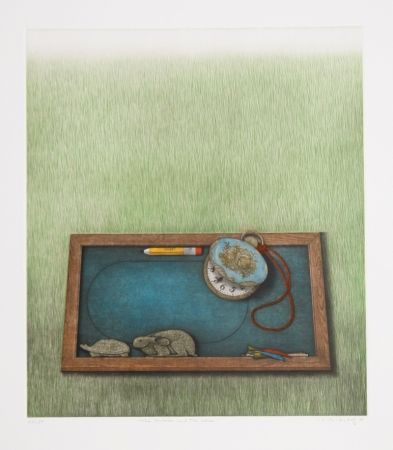 Mezzotint Hwang - The Tortoise and the Hare
