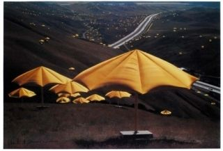 Гашение Christo - The Umbrellas, Japan - USA 1984-91