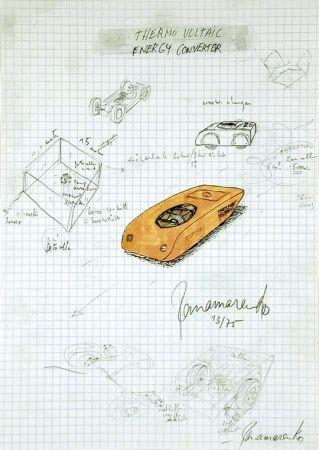 Гашение Panamarenko - Thermo Voltaic 1