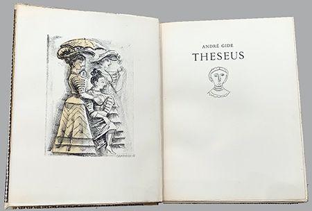 Иллюстрированная Книга Campigli - Theseus