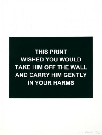 Гравюра Prouvost  - This print wished you would....