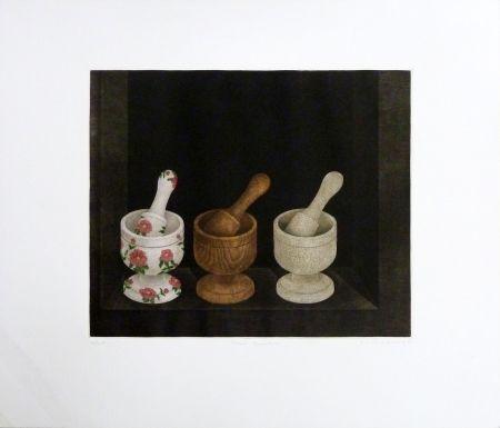 Гравюра Hwang - Three Grinders