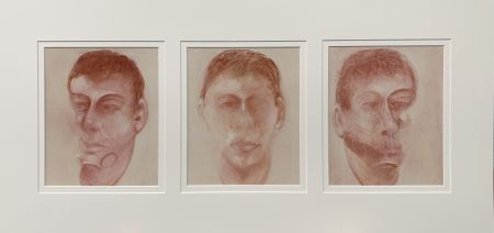 Литография Bacon - Three studies for a portrait of John Edwards