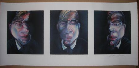 Литография Bacon - Three Studies For A Self-Portrait