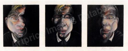 Литография Bacon - Three Studies for a Selfportrait