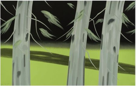 Сериграфия Katz - Three Trees