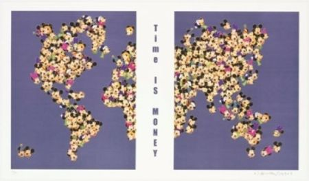 Литография Leirner - Time is money