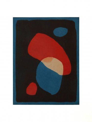 Акватинта Treleaven - Times Square red, Times Square blue