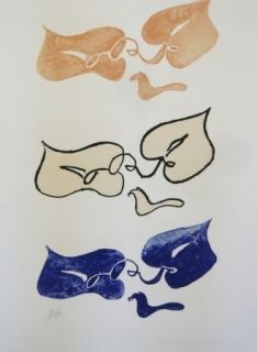 Литография Braque - Tirée de La liberté des mers