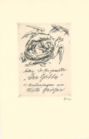Гравюра Geiger - Title-page of