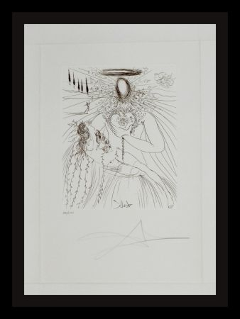 Гравюра Dali - To Every Captive Soul