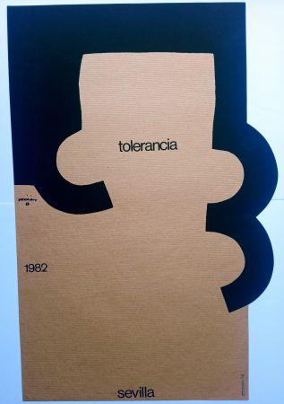 Сериграфия Chillida - Tolerancia