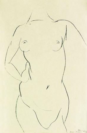 Литография Matisse - Torse de face