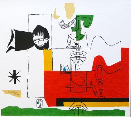 Литография Le Corbusier - Totem