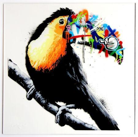 Сериграфия Whatson - Toucan (acrylic)