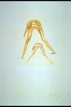 Гравюра Beuys - Tränen: Petticoat