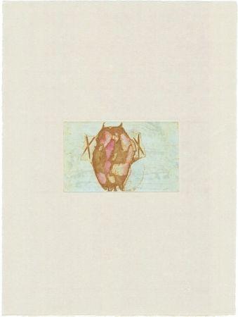 Гравюра Beuys - Tränen: Schamanentrommel (grün)