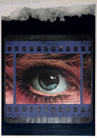 Сериграфия Tilson - Transparency, Clip-O-Matic Eye