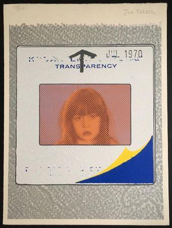 Сериграфия Tilson - Transparency, Snapshot