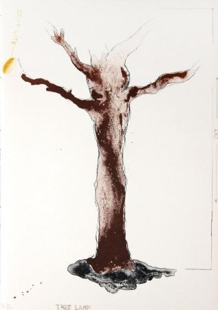 Литография Dine - Tree Lamp