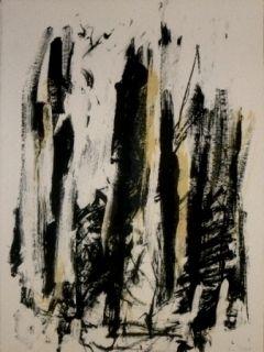 Литография Mitchell - Trees 2
