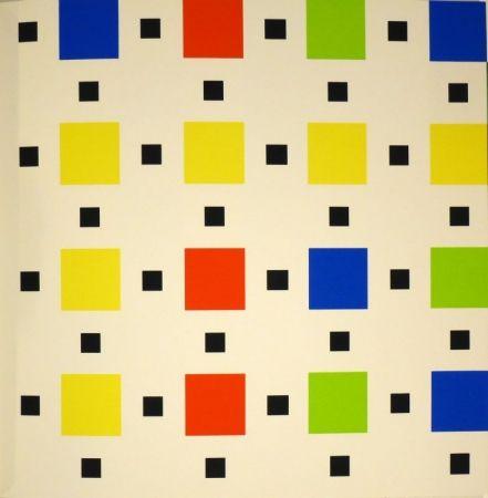 Сериграфия Nemours - Trente-huit peintures à la gouache ou au vinyle