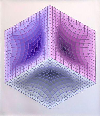 Сериграфия Vasarely - Tridos II
