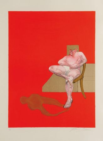 Литография Bacon - Triptych 1983 right panel