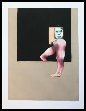 Офорт И Аквитанта Bacon - Triptych 1991 right panel