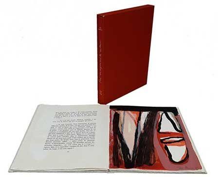 Иллюстрированная Книга Van Velde - Trois Remarques Sur La Couleur