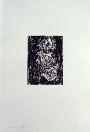 Литография Kounellis - Trois roses